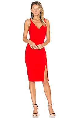 Elisas Dress in Scarlet