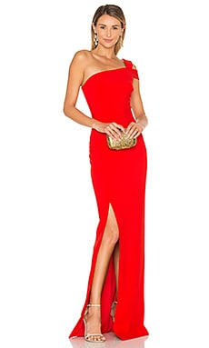 Maxson Gown in Scarlet