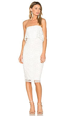 Lace Driggs Dress in White