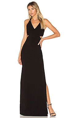 Fullerton Dress in Black