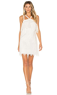 Abergreen Dress in White