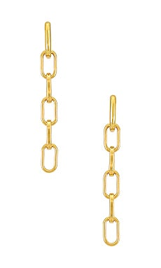 Lara Link Earrings Lili Claspe $80