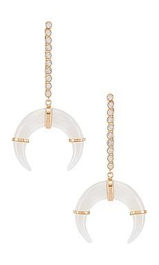 Hanna Horn Duster Earrings Lili Claspe $150