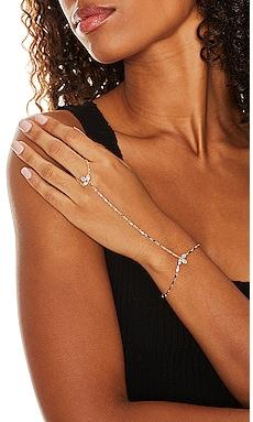 Flora Hand Chain Lili Claspe $90