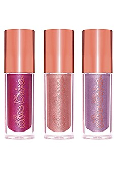 Holiday Glow Mini Plushies Lip Set Lime Crime $15