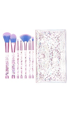 Aquarium Liquid Glitter Brush Set Lime Crime $58
