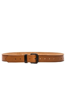 Linea Pelle Versatile Belt in New Cognac & Matte Black