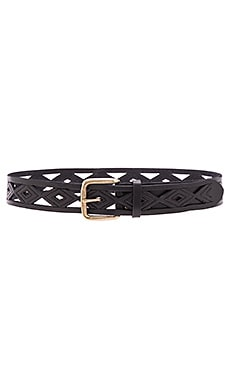 CEINTURE DIAMOND PERFORATED HIP