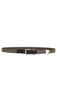 Avery Studded Hip Belt in Black