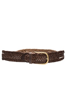 Linea Pelle Twist Braid Hip Belt in Tmoro