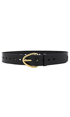 Perry Perforated Belt in Black