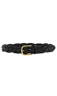 Braided Hip Belt in Black