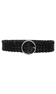 Round Buckle Belt en Noir