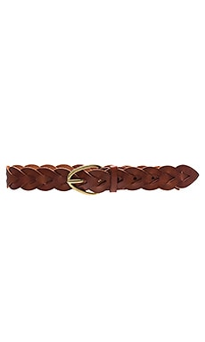 Braided Hip Belt in New Cognac