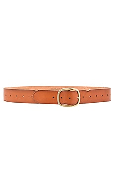 Linea Pelle Vintage Multi Hole Belt in New Cognac