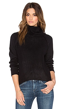 Line Harbor Turtleneck Sweater in Caviar