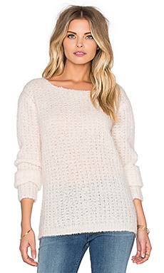 Teagan Crew Neck Sweater en Parasol
