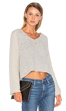Drew Bell Sleeve Sweater in Blizzard