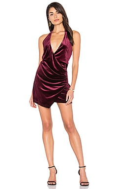 ROBE MINI EN VELOURS ATLANTIC CITY