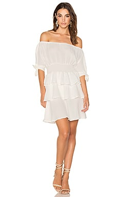 Cuban Nights Dress in White