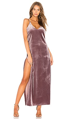 Don't Be Jealous Velvet Maxi Dress