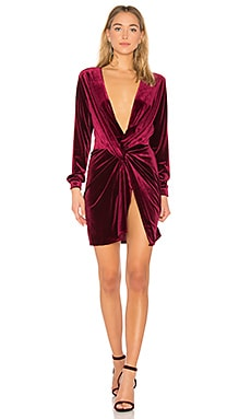 Fame and Lust Velvet Dress