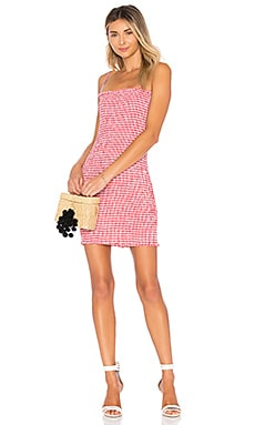 Havana Smocked Mini Dress LIONESS $49