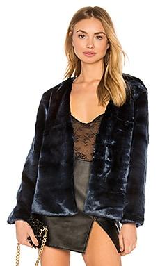Too Damn Famous Faux Fur Coat LIONESS $62