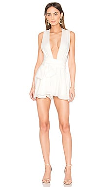 Copacabana Linen Romper in White