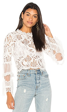 Chancellor Lace Top