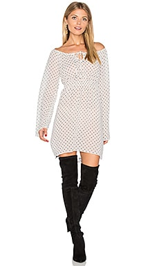 Dot Dress in White Diamond