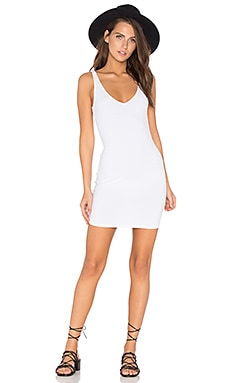 Tank Dress in White