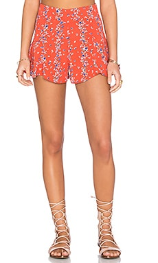 Maui Short in Red Print