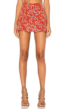 Lisakai Floral Skort in Orange & Tulip Print