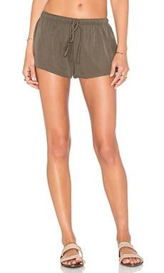 Lisakai Tie Front Short in Green