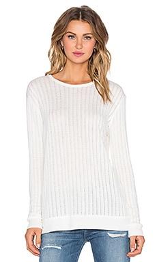 Lisakai Melissa Sweater in White