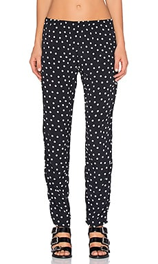 Lisakai Polka Dot Pant in Black