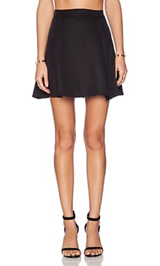 Lisakai High Wasted Skirt in Black