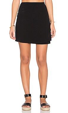 Lisakai Livorno Wrap Skirt in Black