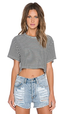 Lisakai Rose Top in Stripe