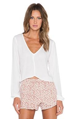 Lisakai Michelle Top in White