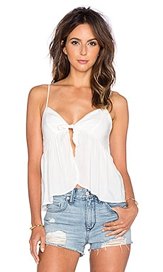 Lisakai Silk Tank in White
