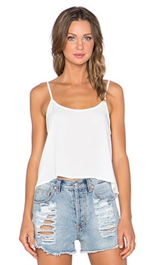 Lisakai Crop Top in White