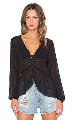 Lisakai Judie Top in Black