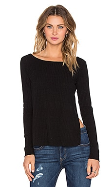 Lisakai Lauren Top in Black