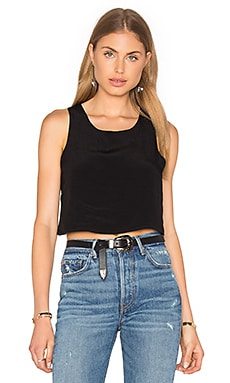Lisakai Crop Tank in Black