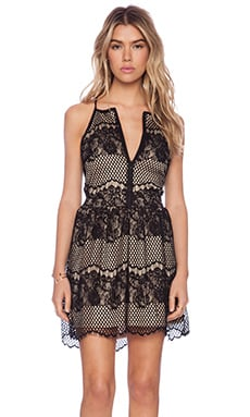 LIV Sandra Lace Dress in Black