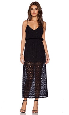LIV Grace Maxi Dress in Black