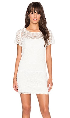LIV Lucy Lace Tunic in Ivory