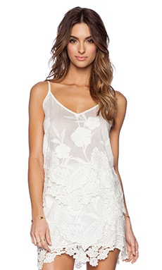 LIV Arie Lace Inset Cami in Ivory